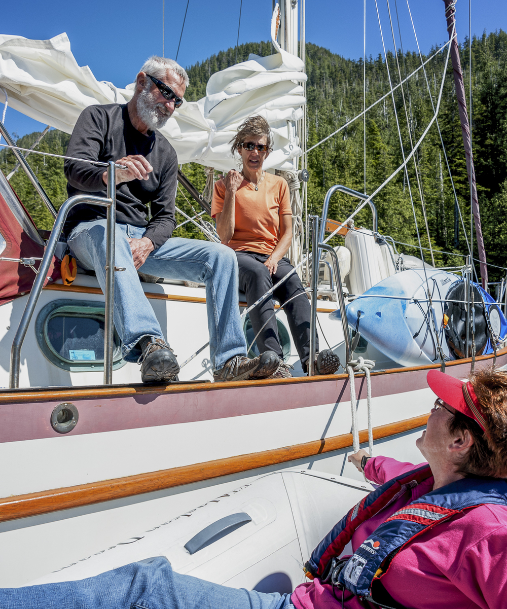 The crew of  Nisku  and  Alaskan Dream  share stories