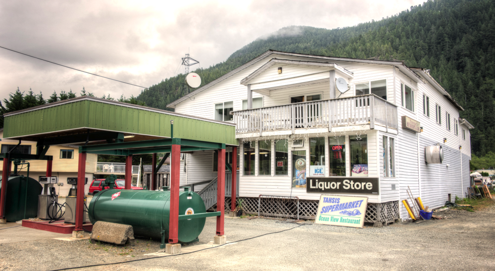 The General Store in Tahsis