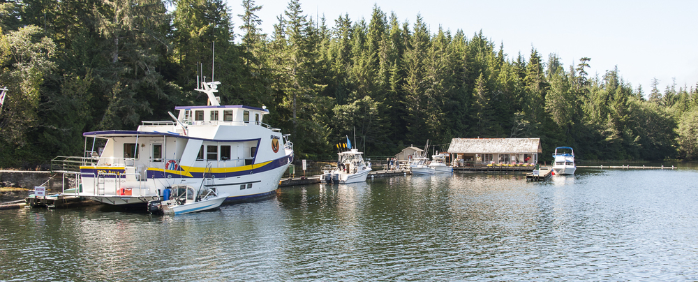 A found farewell to the Port Alberni Yacht Club Outpost