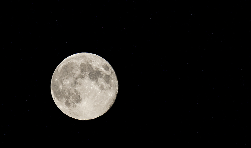 Moonrise over Bamfield
