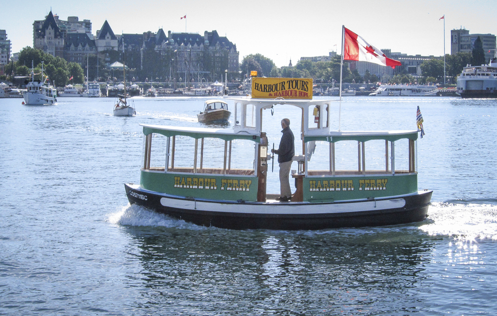 Traffic in Victoria Inner Harbour