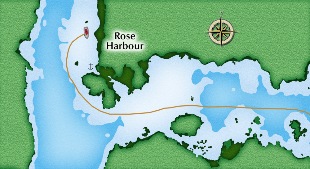 Rose Harbour anchorage