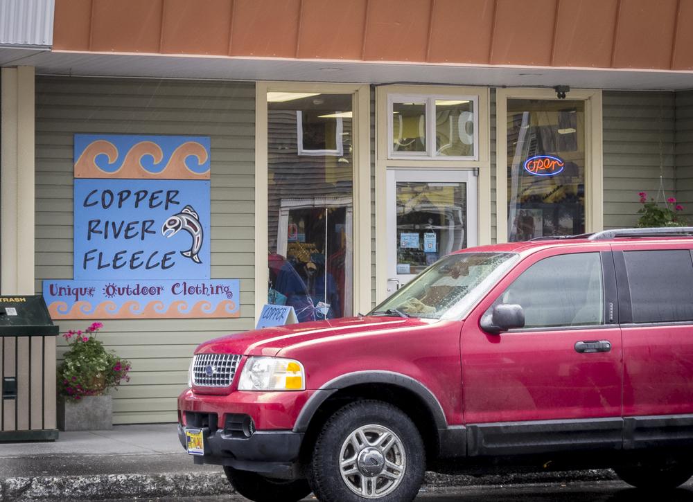 You gotta go to Copper River Fleece