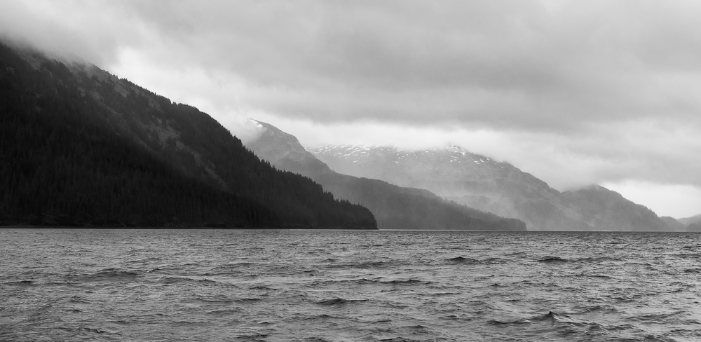 Mountains followed by more mountains followed by more mountains. That's the grandeur of Prince William Sound.