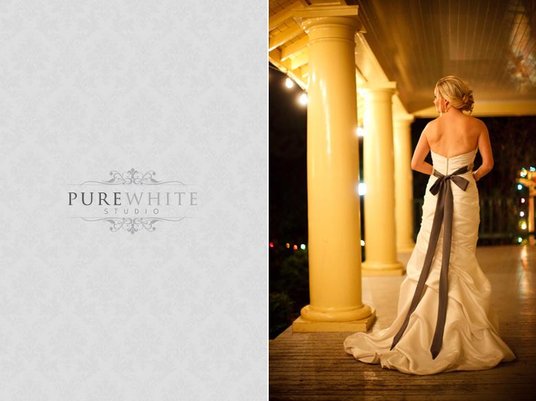 Burnaby Village Museum Chapel Wedding Pure White Studio