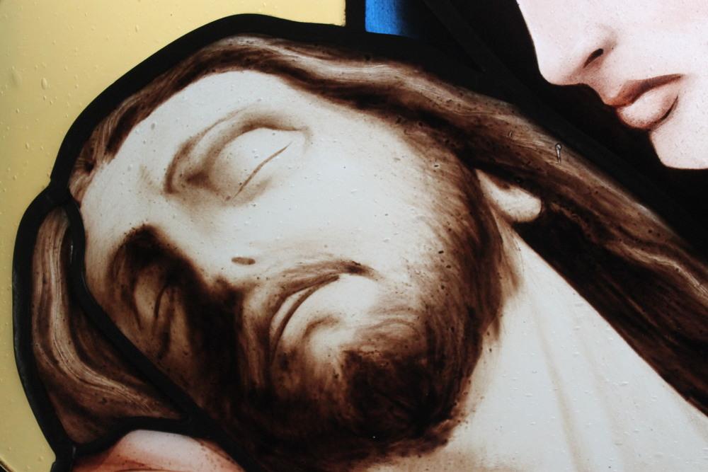 Indre McCraw Venturella Studio Pieta detail.JPG