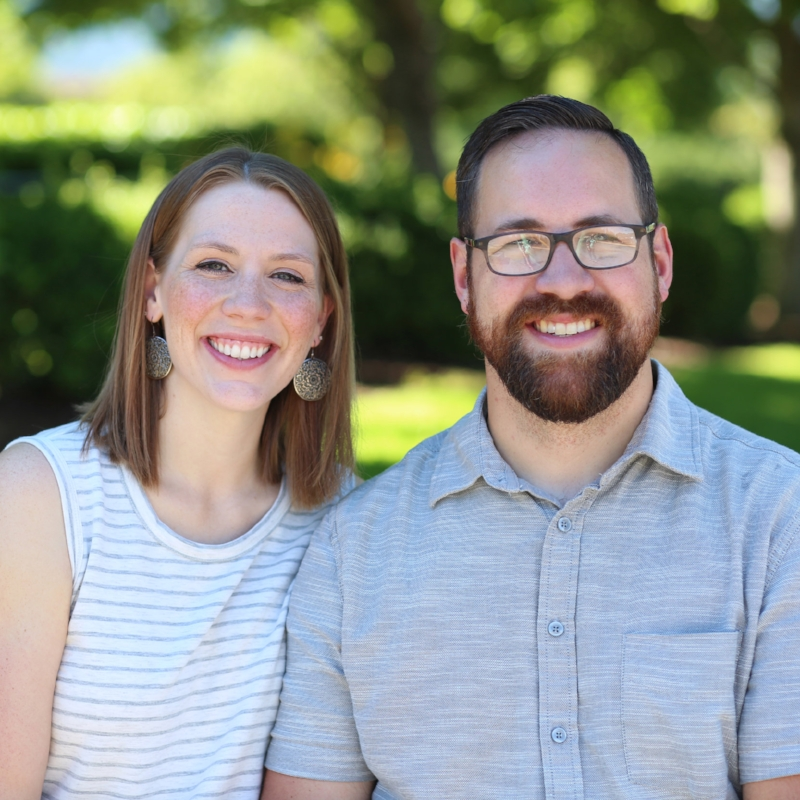Pastor Stephen & Corissa Olson. Pastor Stephen oversees adult discipleship, which includes Care Groups, Men's Ministry, Missions, and visitor hospitality.