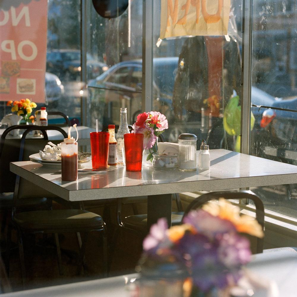 AMANDA BOE,  Cafe , 2015
