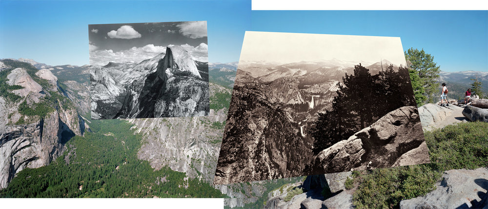 Mark Klett & Byron Wolfe, Glacier Point Pan
