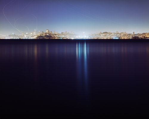 From the SF Camerawork Fine Print Collection: Christina Seely,  Lux: Metropolis 37° 46'N122°26'W (San Francisco) , 2005-2010. Archival inkjet print