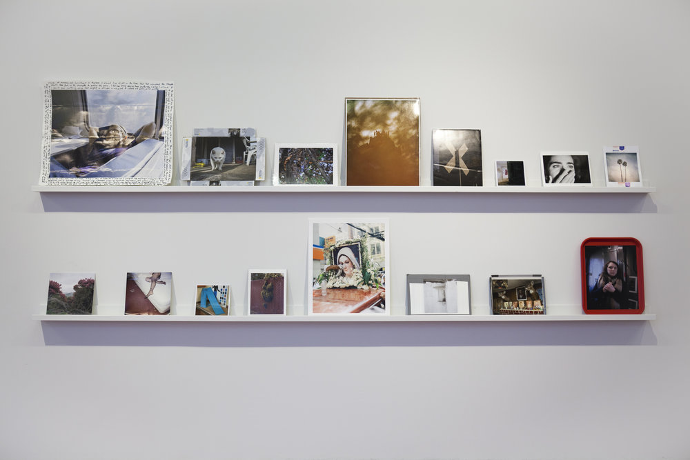 Installation view of Esquisite Corpse.