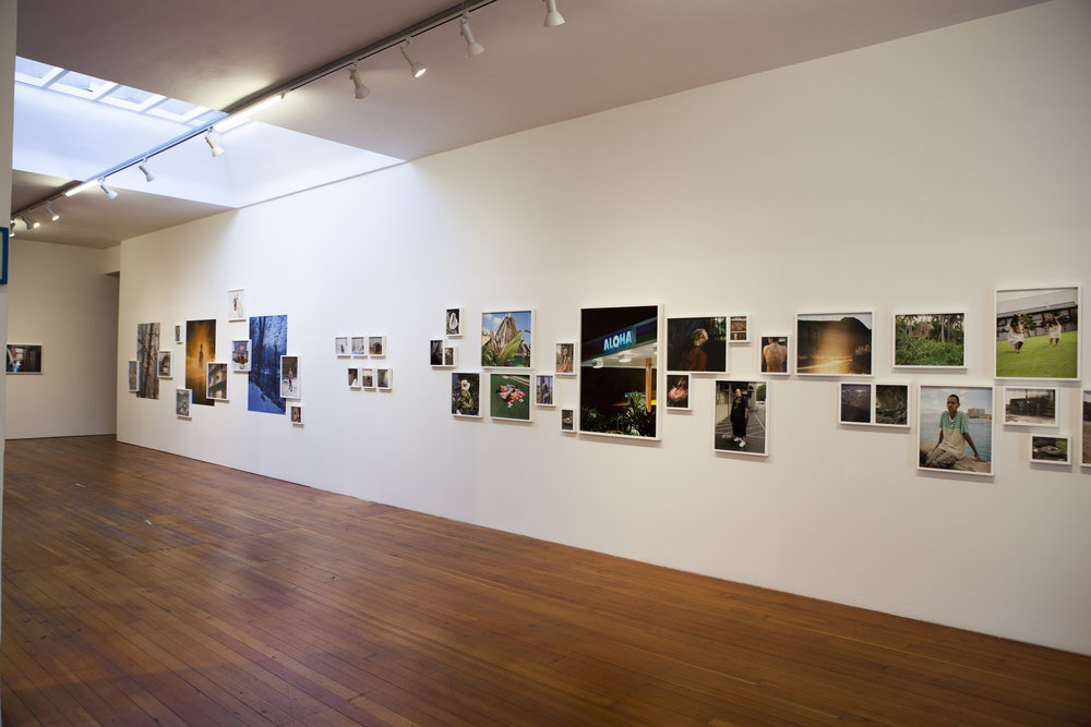 Installation view of exhibition in the gallery space.
