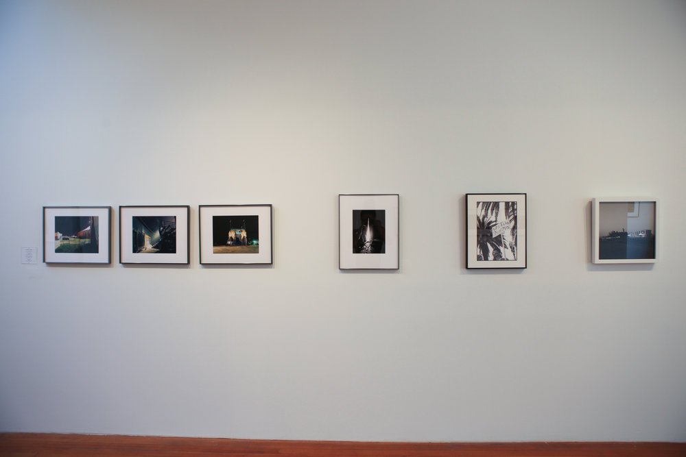 Installation view of Rachel Jablo, Michele Brancati, Sarah Windels, and Michael James lessner's work.