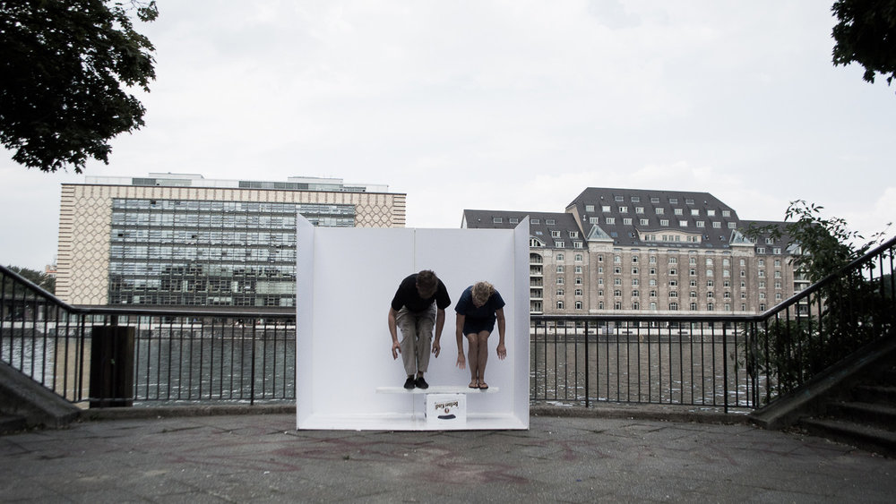 ALEXANDMUSHI,  Portable Studio, River Spree, Berlin 2016