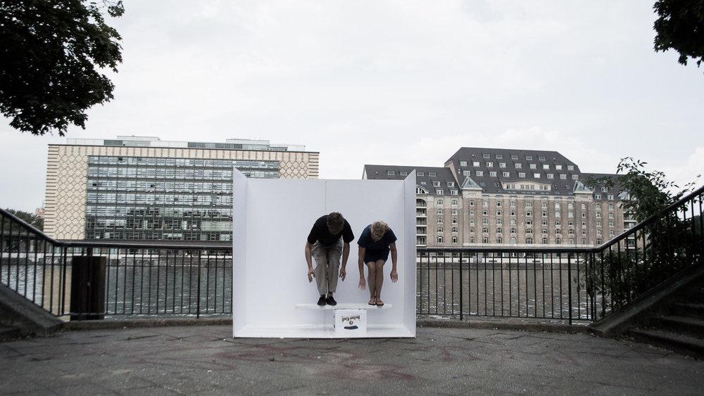 ALEXANDMUSHI,  Portable Studio, River Spree, Berlin 2016