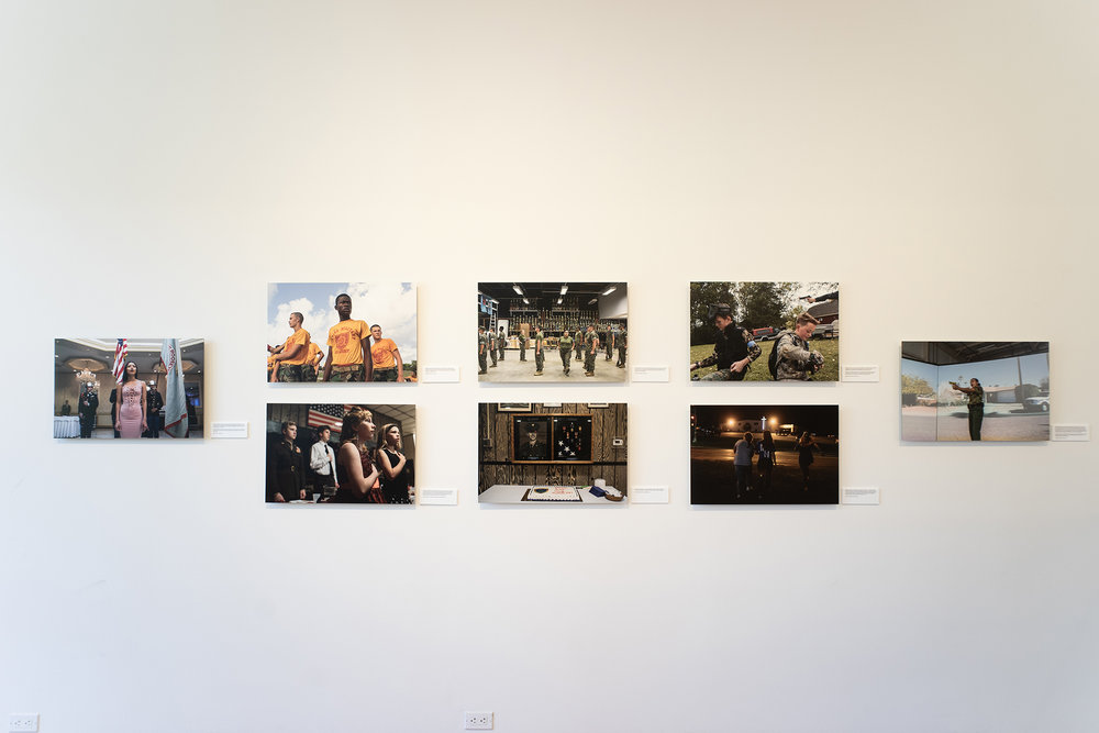 Installation view, Sarah Blesener's  Beckon Us From Home.