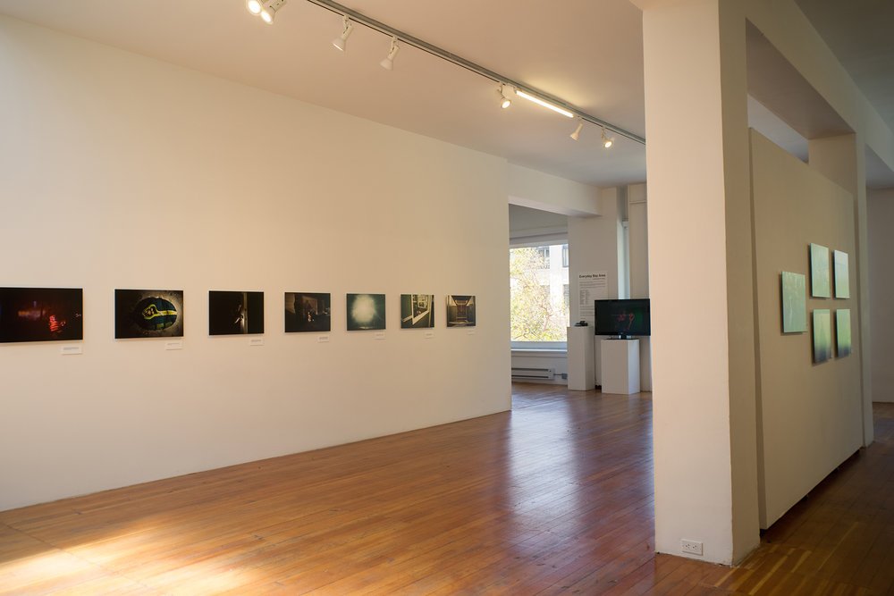 Installation view, Brian L.Frank's  Out of Bounds.