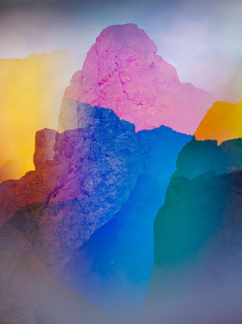 TERRI LOEWENTHAL,  Psychscape 602 (White Rock Canyon, AZ) , July 2018
