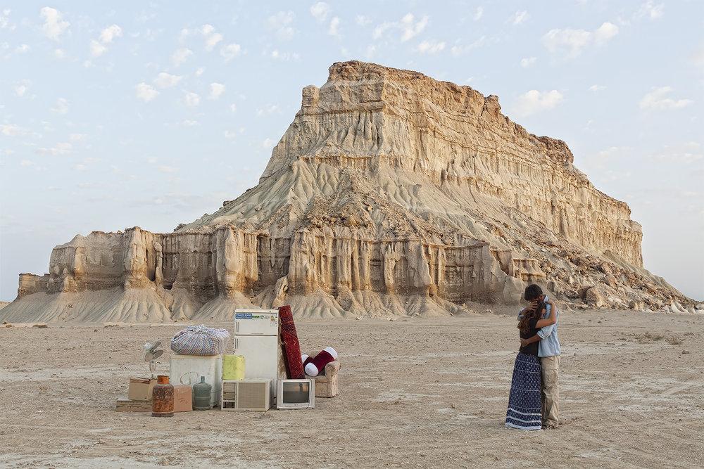Gohar Dashti, from the series  Stateless