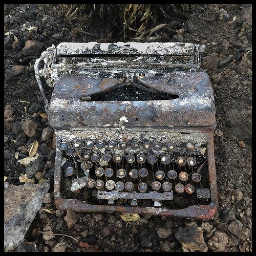 Norma I. Quintana,  Typewriter , 2017