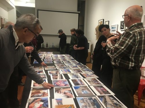 Peter Merts presents work at the SFC Members' Critique