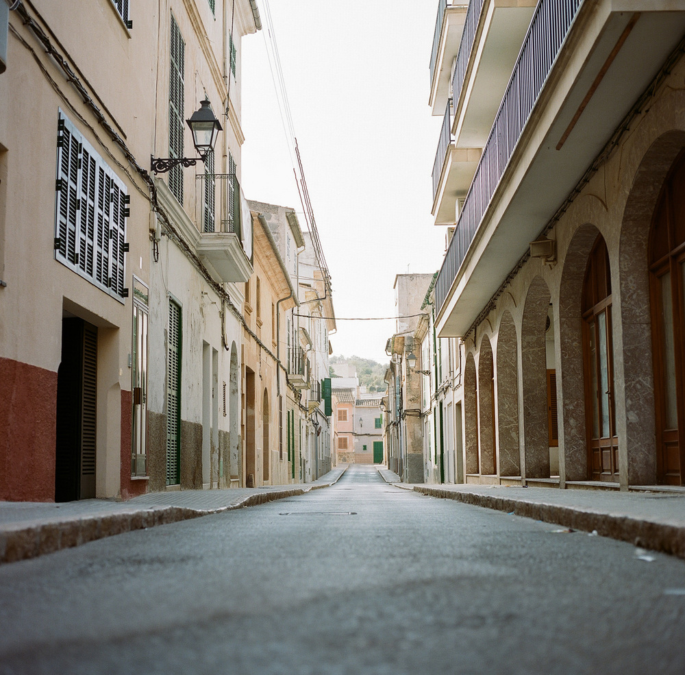 The empty streets of Felanitx