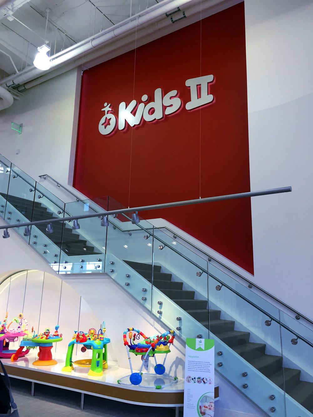 The Kids II showroom