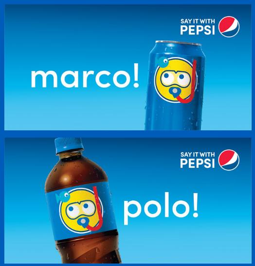"Pepsi recently released ""Pepsimojis."""