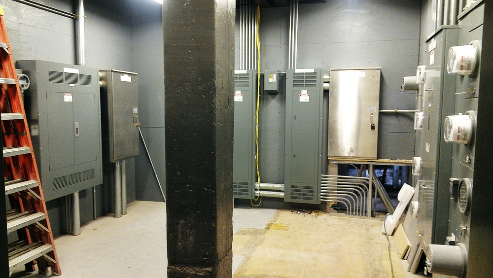 Our utility room will hold the brains and controls for our power and telecom.