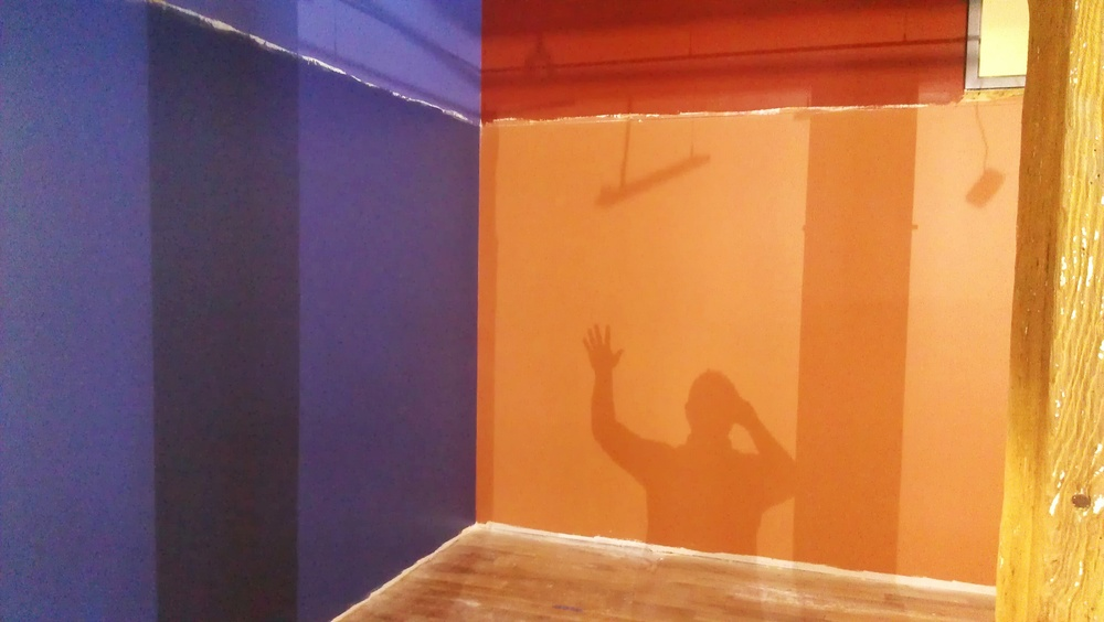 Shadow selfie!
