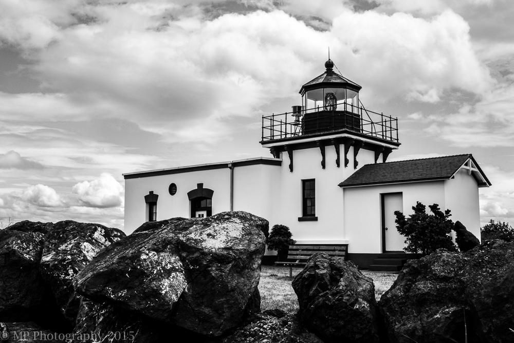 Point No Point Lighthouse, Kitsap Peninsula.