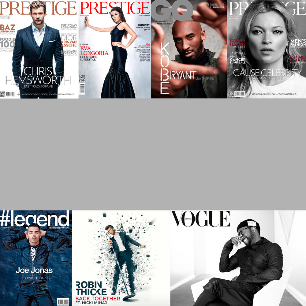 Celebrity portraits -