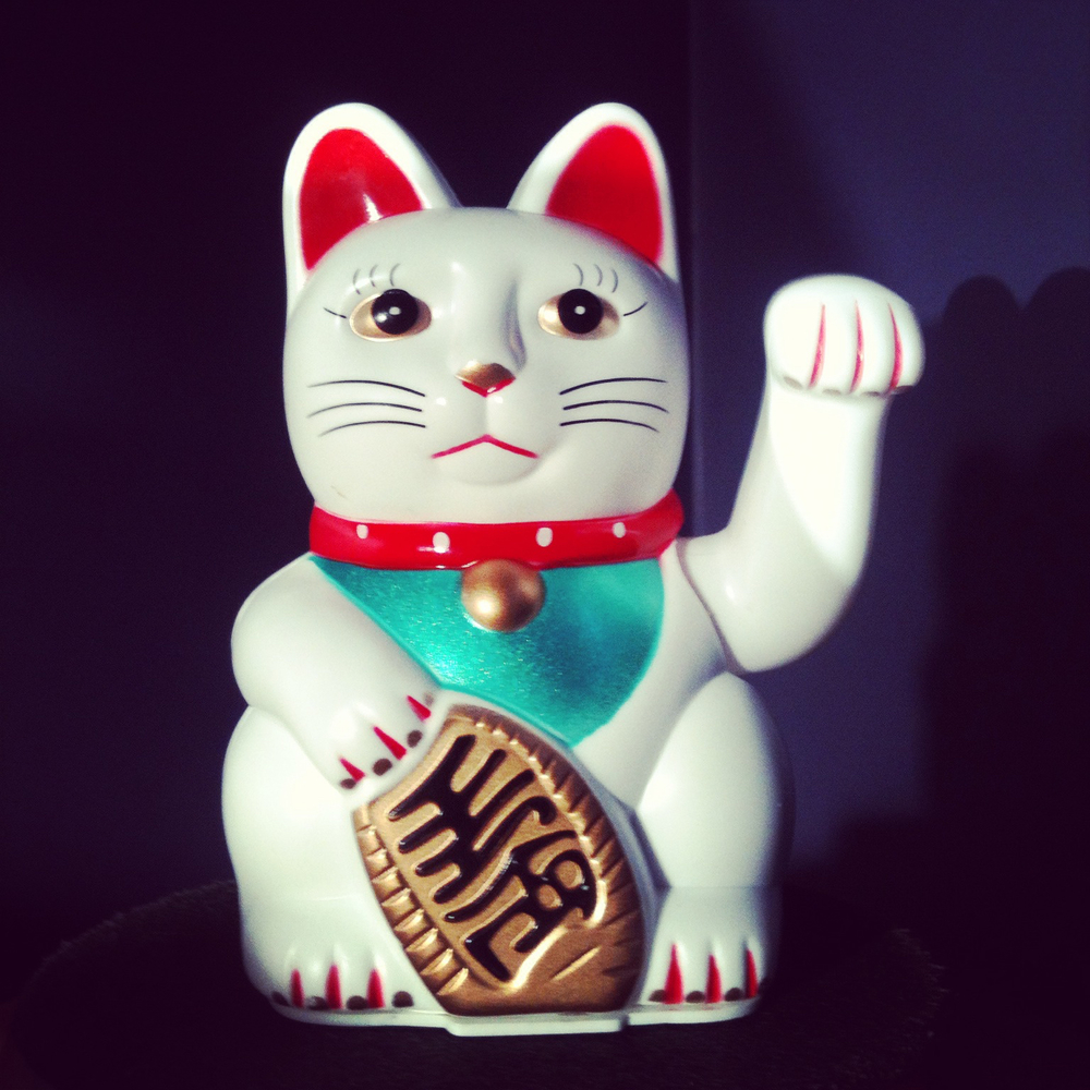 Zoe Hewett Interiors Lucky Cat