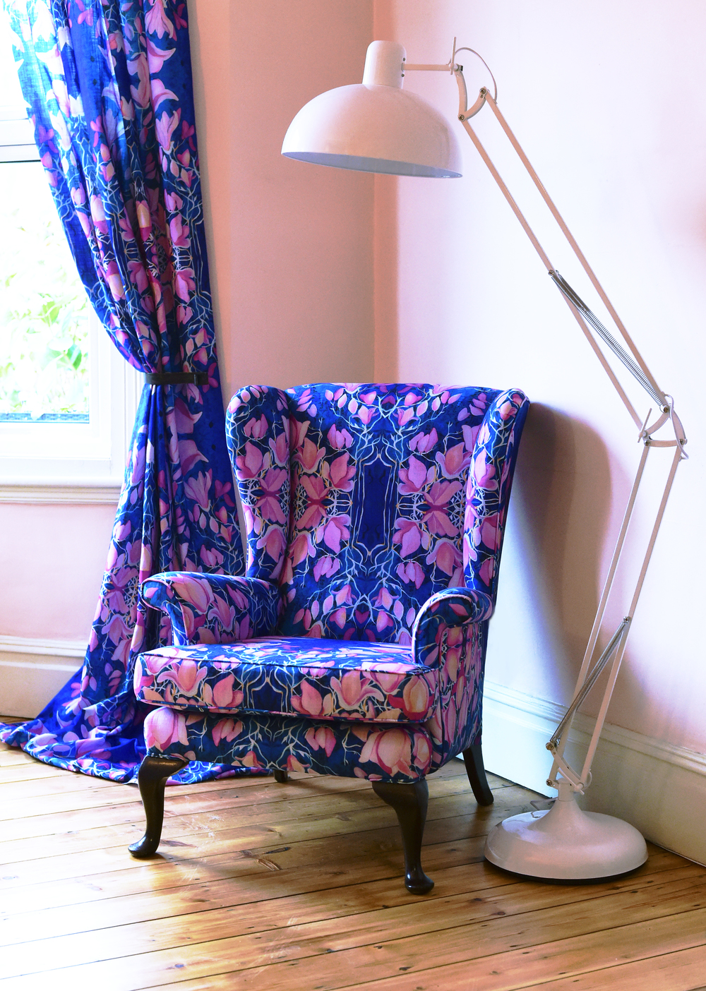 Blooming Bryony Armchair