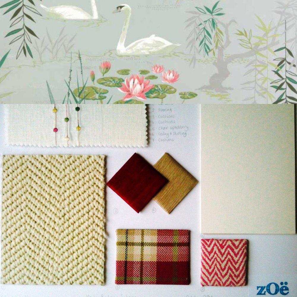 Zoe Hewett Interiors Bedroom Scheme