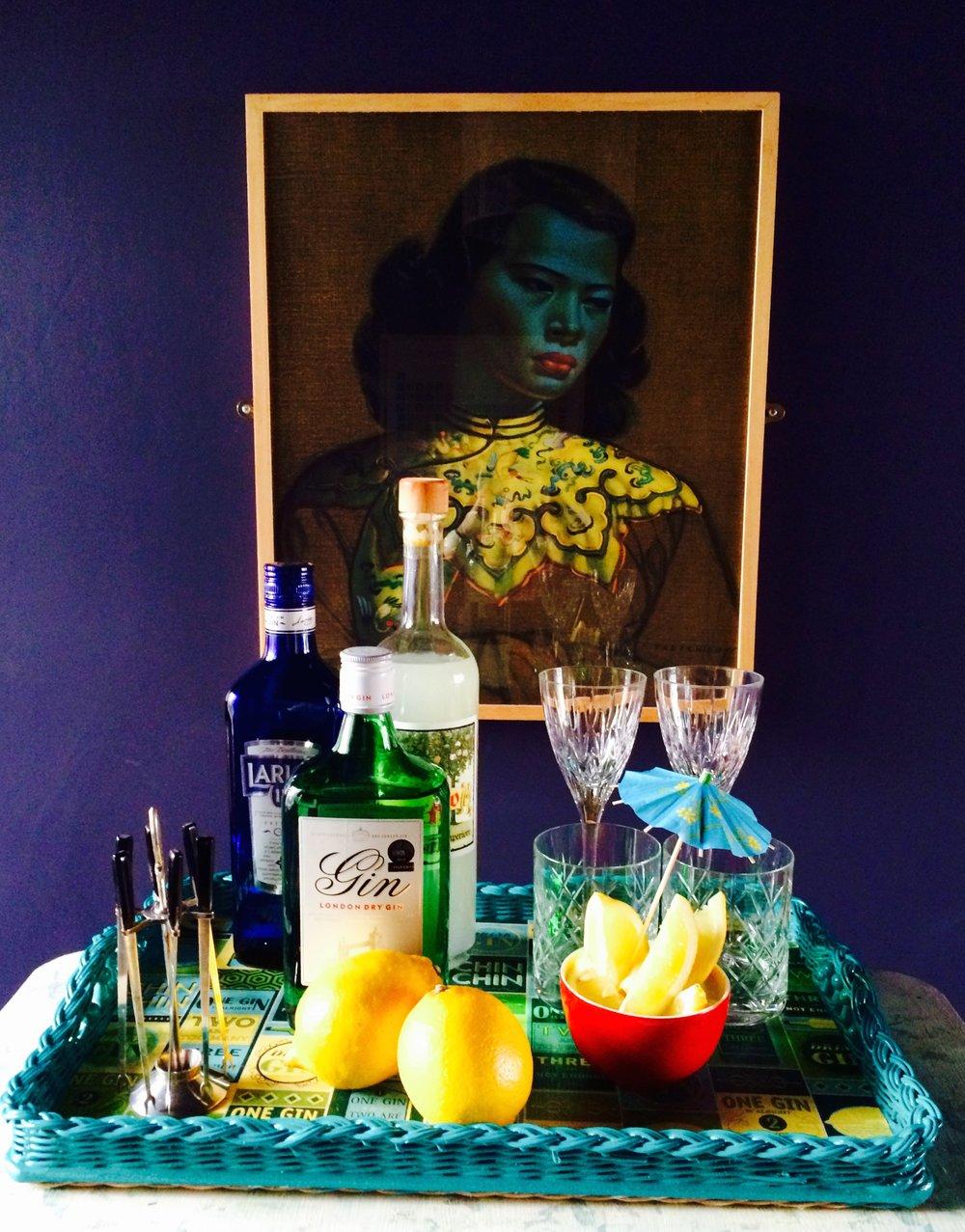 Zoe Hewett Interiors Gin Bar