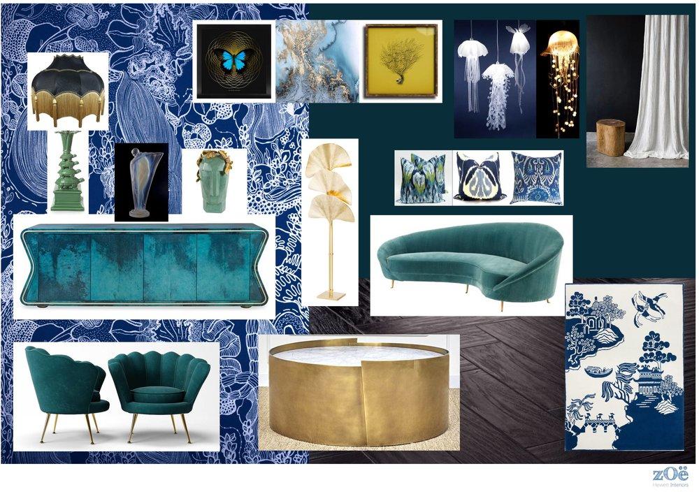 Zoe Hewett Interiors Addicted To Patterns