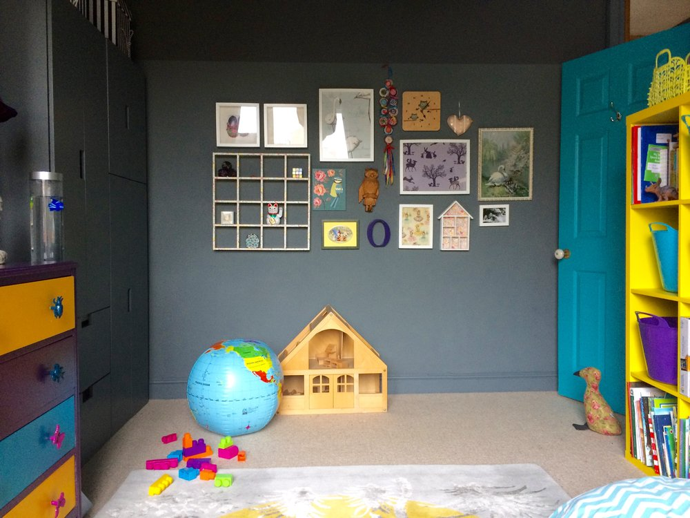 Child's bedroom designed by Zoe Hewett Interiors