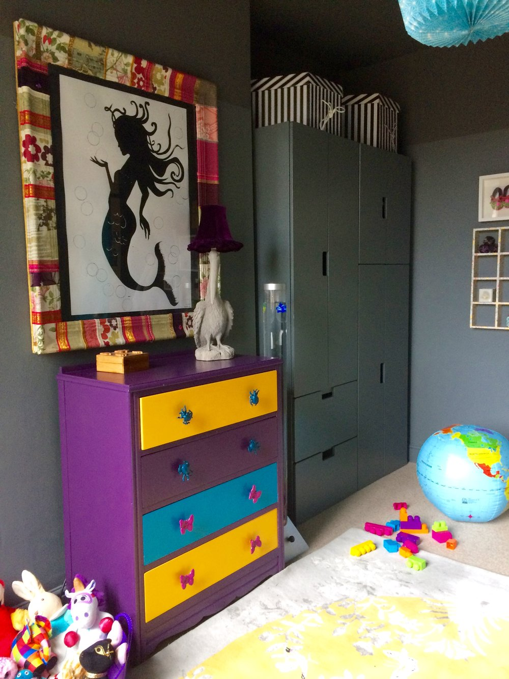 Zoe Hewett Interiors Grey Nursery