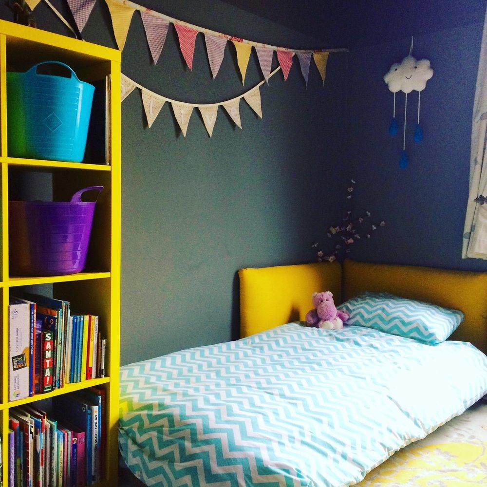 Zoe Hewett Interiors Nursery Bed