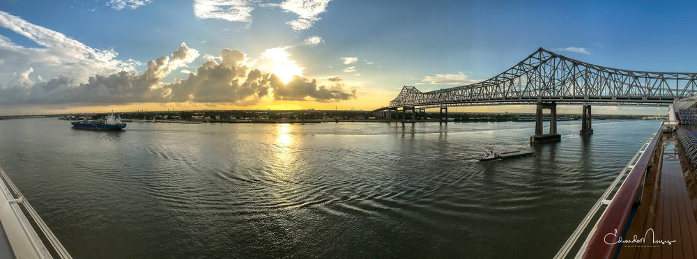 Sunrise in New Orleans