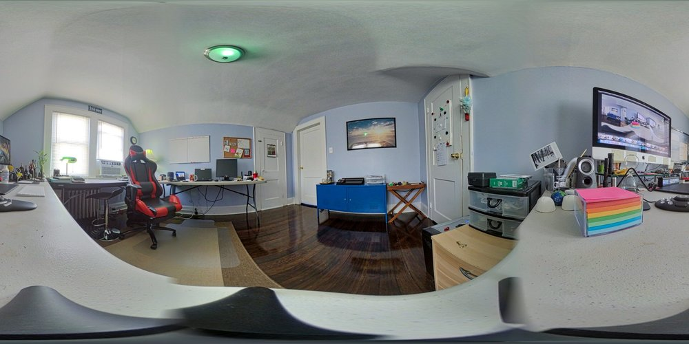 360º image of the new office...