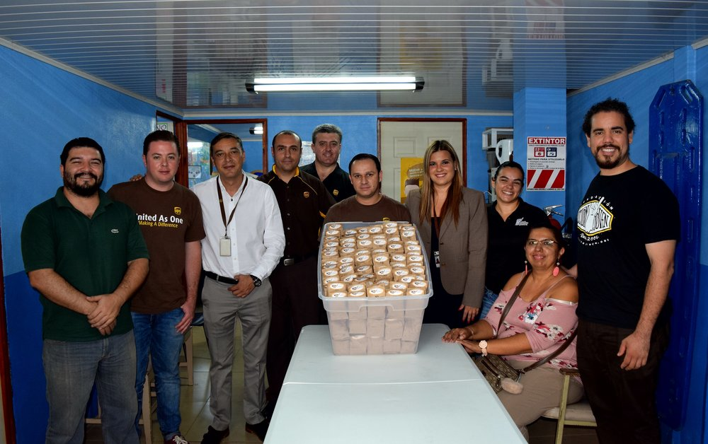 Voluntariado Corporativo de UPS. +info  aquí