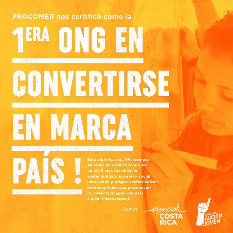 FUNDACIÓN ACCIÓN JOVEN: PRIMERA ONG EN CONVERTIRSE EN MARCA PAÍS