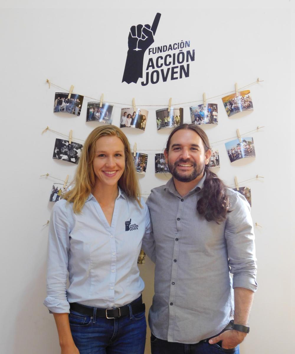 Anna Zimbrick y Esteban Carmiol Valverde