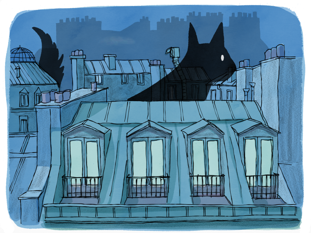 Paris Ghost Cat