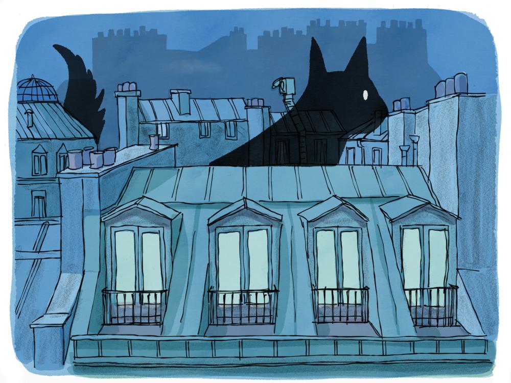 Paris Ghost Cat