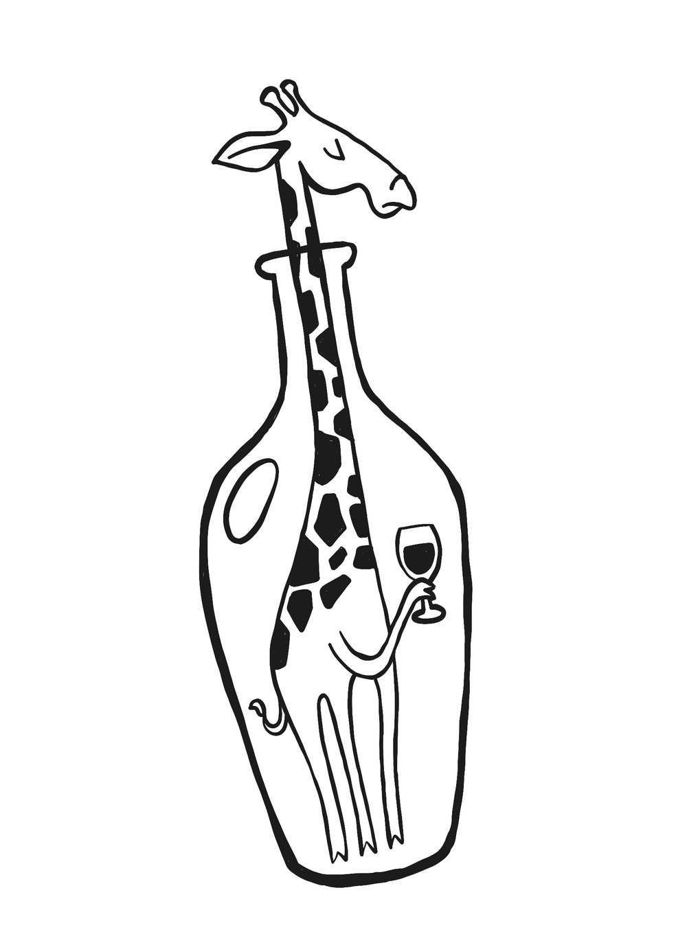 Bottled Giraffe