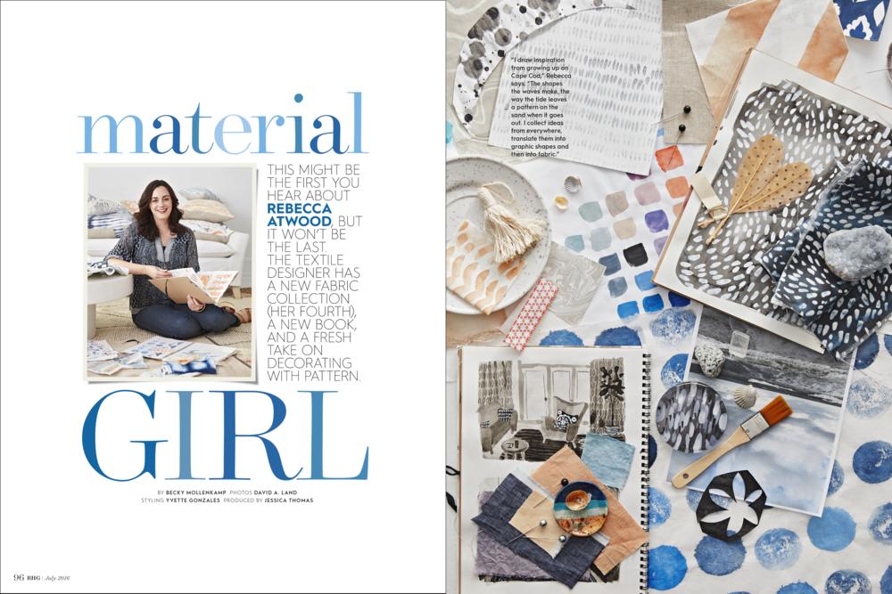 Material Girl, July 2016