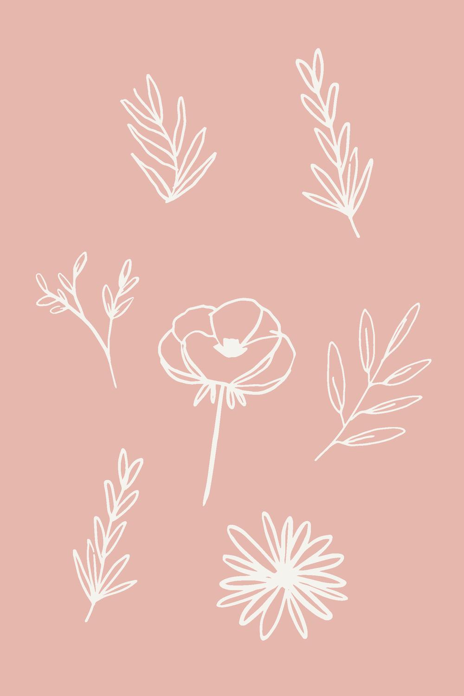 handdrawnflorals_darkgreen_huntergreen_forest_flowers_whimsical_illustration_brightenmade6.png